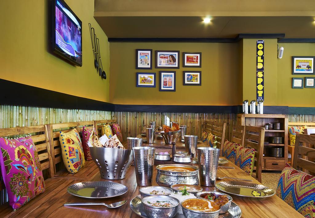 Under One Roof Hotel Consulting. Rang de Basanti Restaurant.